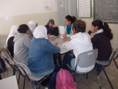 Mitglieder der Jury des Ibn Rushd Schulmagazin Projekts