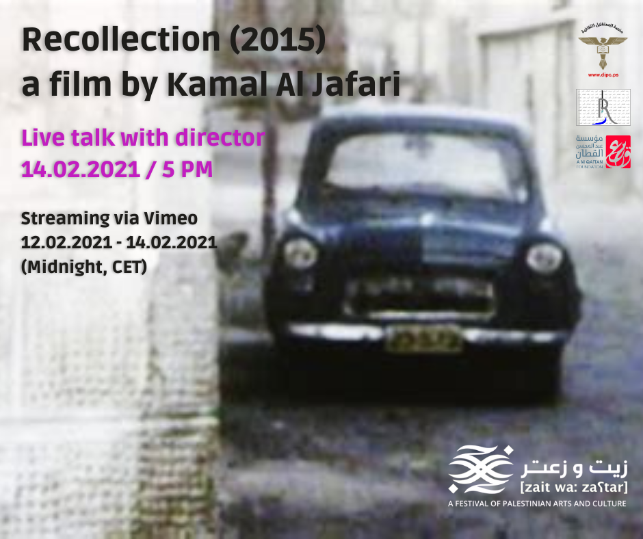 "Film Screening: ""Recollection"" (2015) 70 mins"